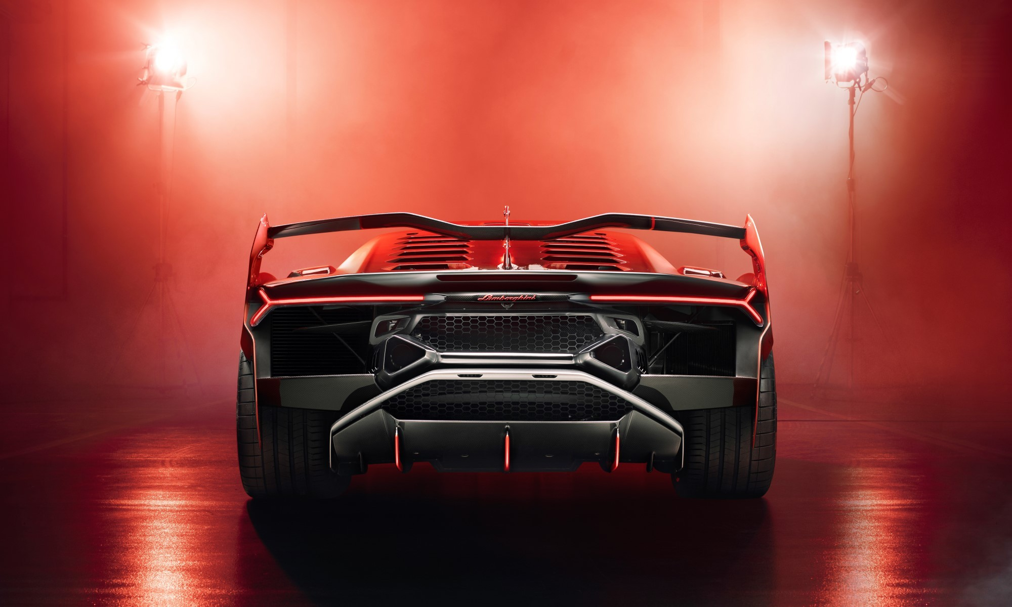 Lamborghini SC18 Alston wing