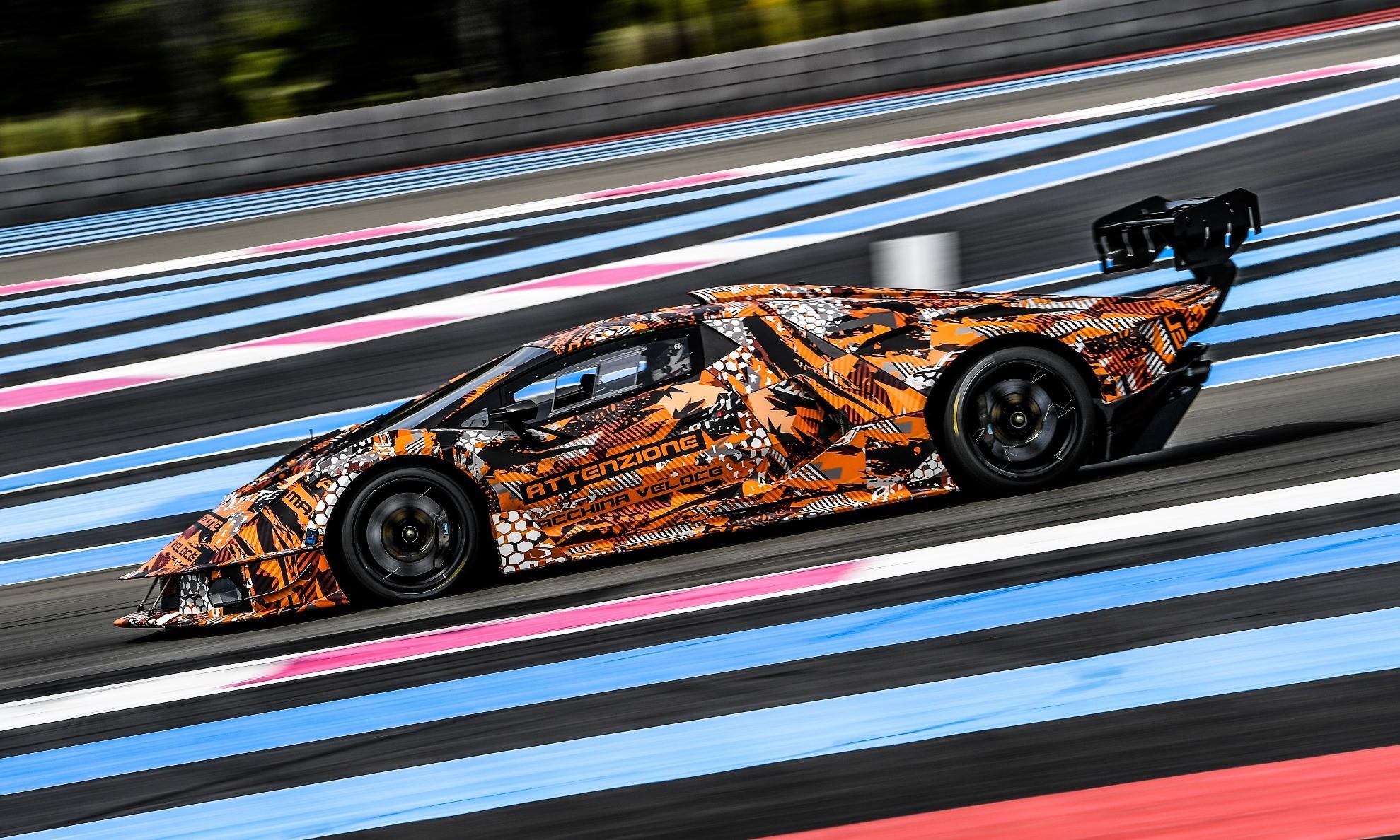 Lamborghini SCV12 profile