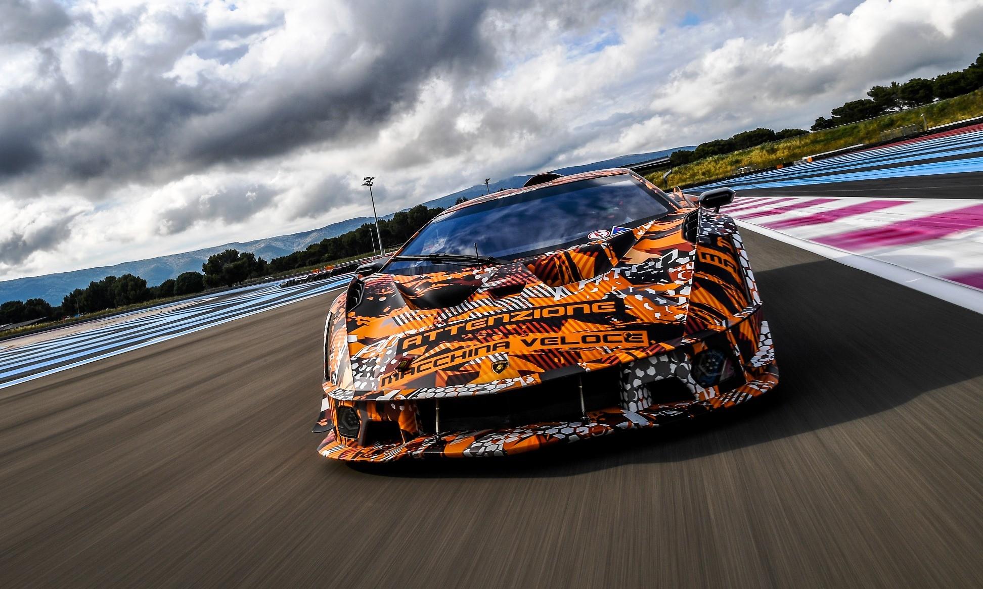 Lamborghini SCV12 tracking