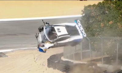 Lamborghini Trofeo Crash