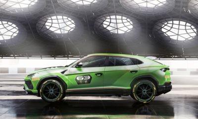 Lamborghini Urus ST-X Concept profile