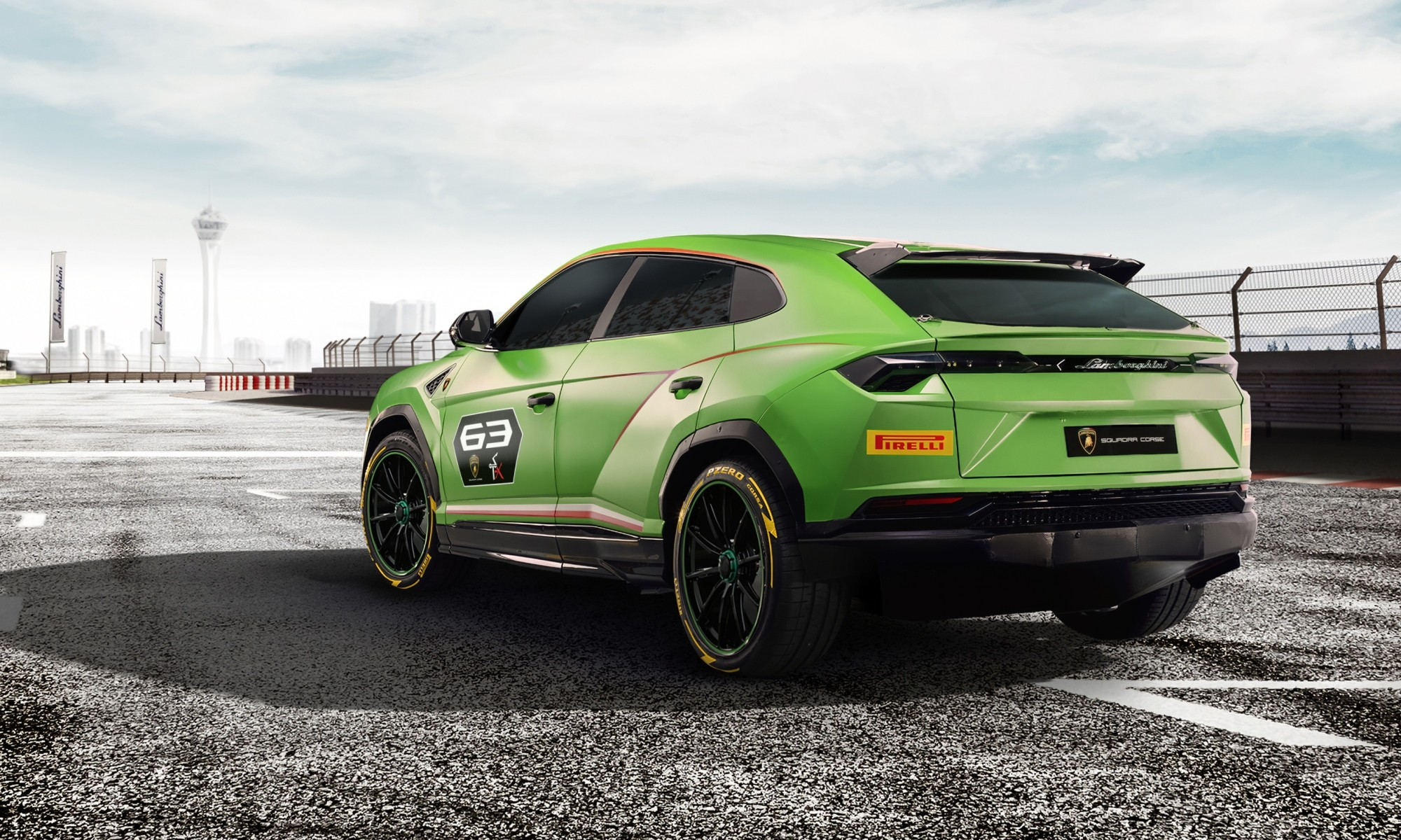 Lamborghini Urus ST-X Concept rear