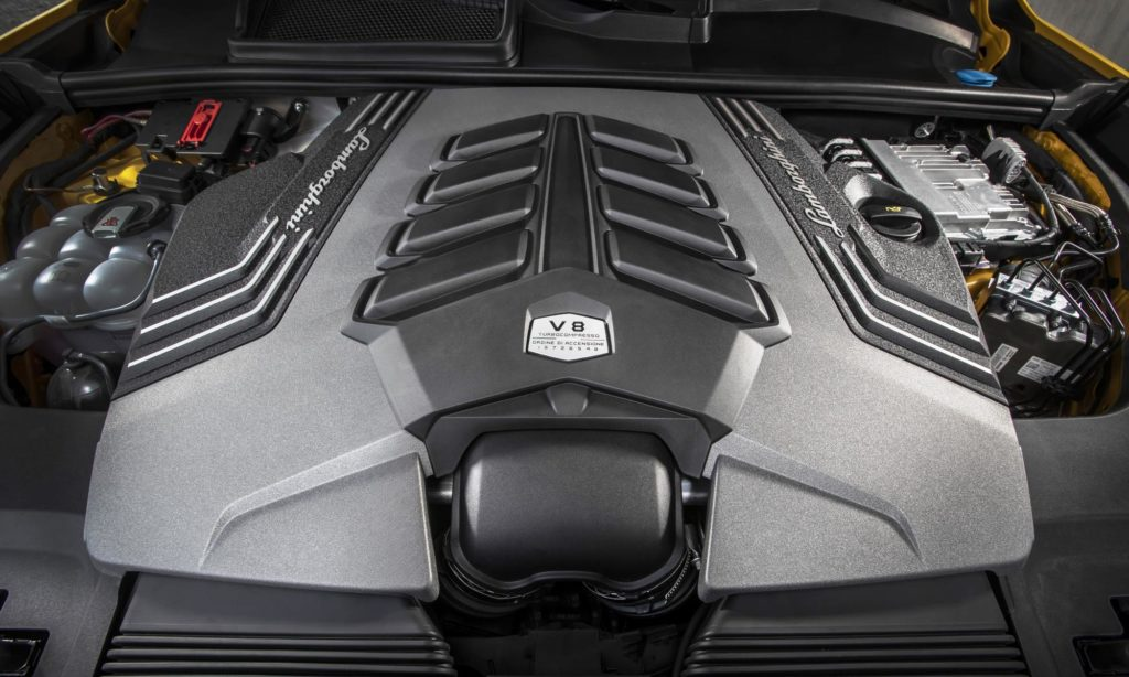 Lamborghini Urus driven engine