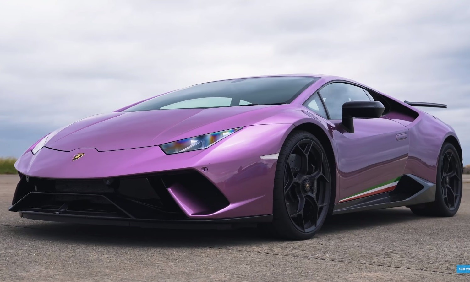 Lamborghini drag race Huracan