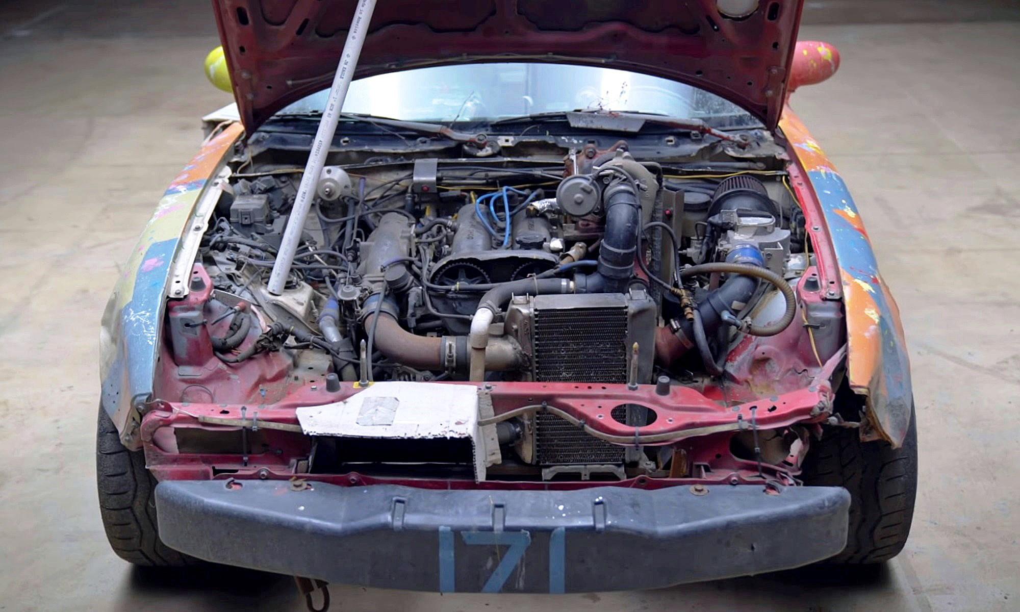 LeMons Racer MX-5 engine