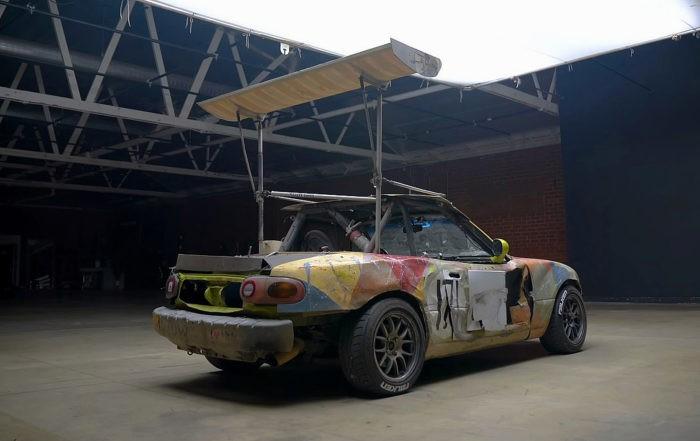 LeMons Racer MX-5 rear