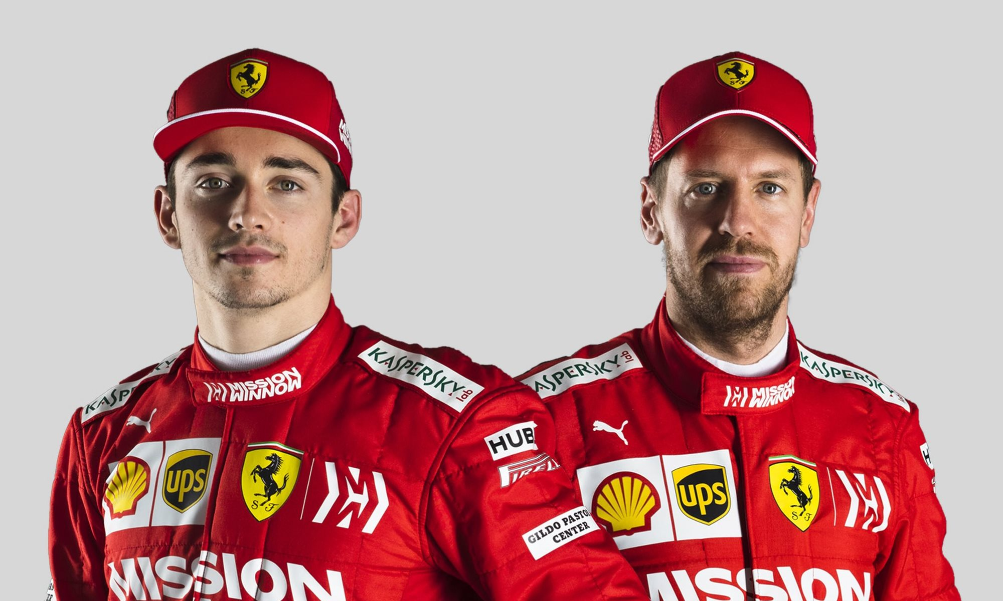 Leclerc and Vettel at Scuderia Ferrari