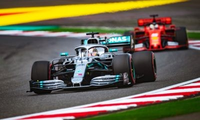 Lewis Hamilton won the 1000th GP