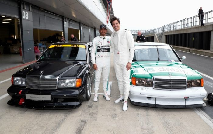 Lewis Hamilton and Mercedes F1 boss Toto Wolff