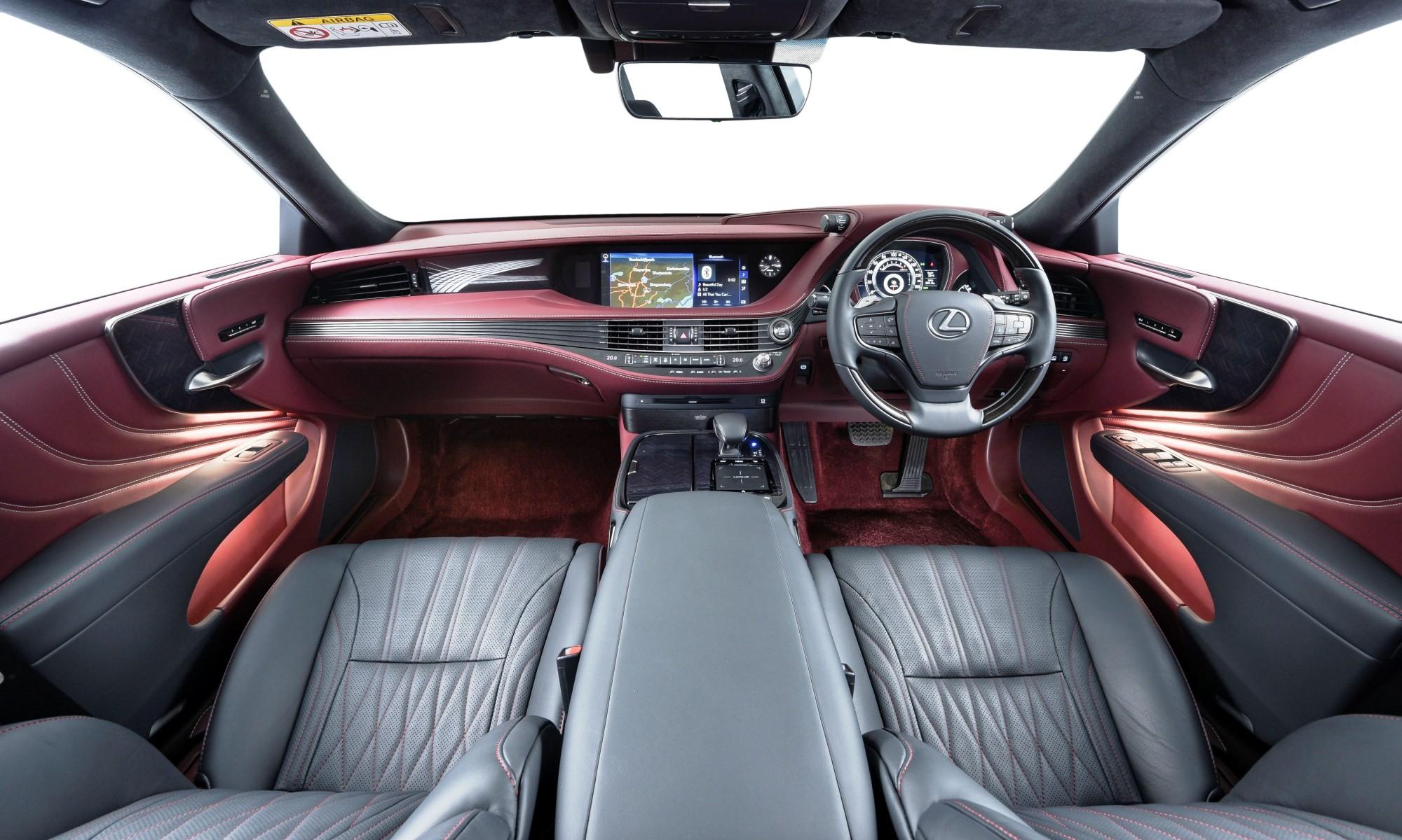 Lexus LS500 interior