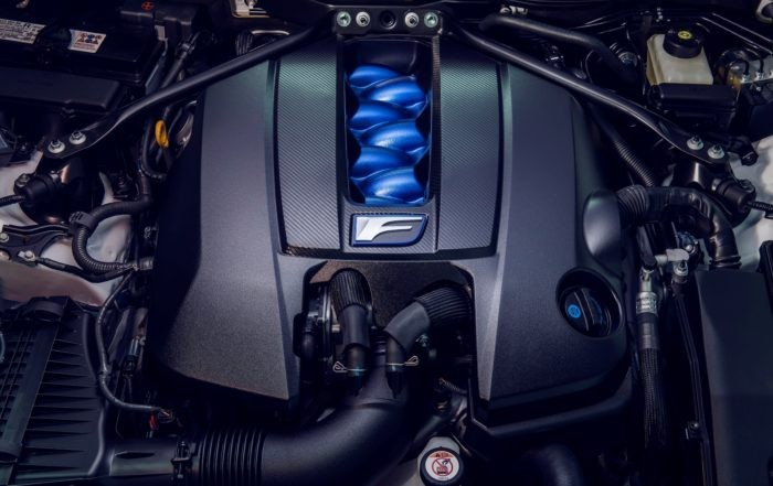 Lexus RC F Track Edition engine