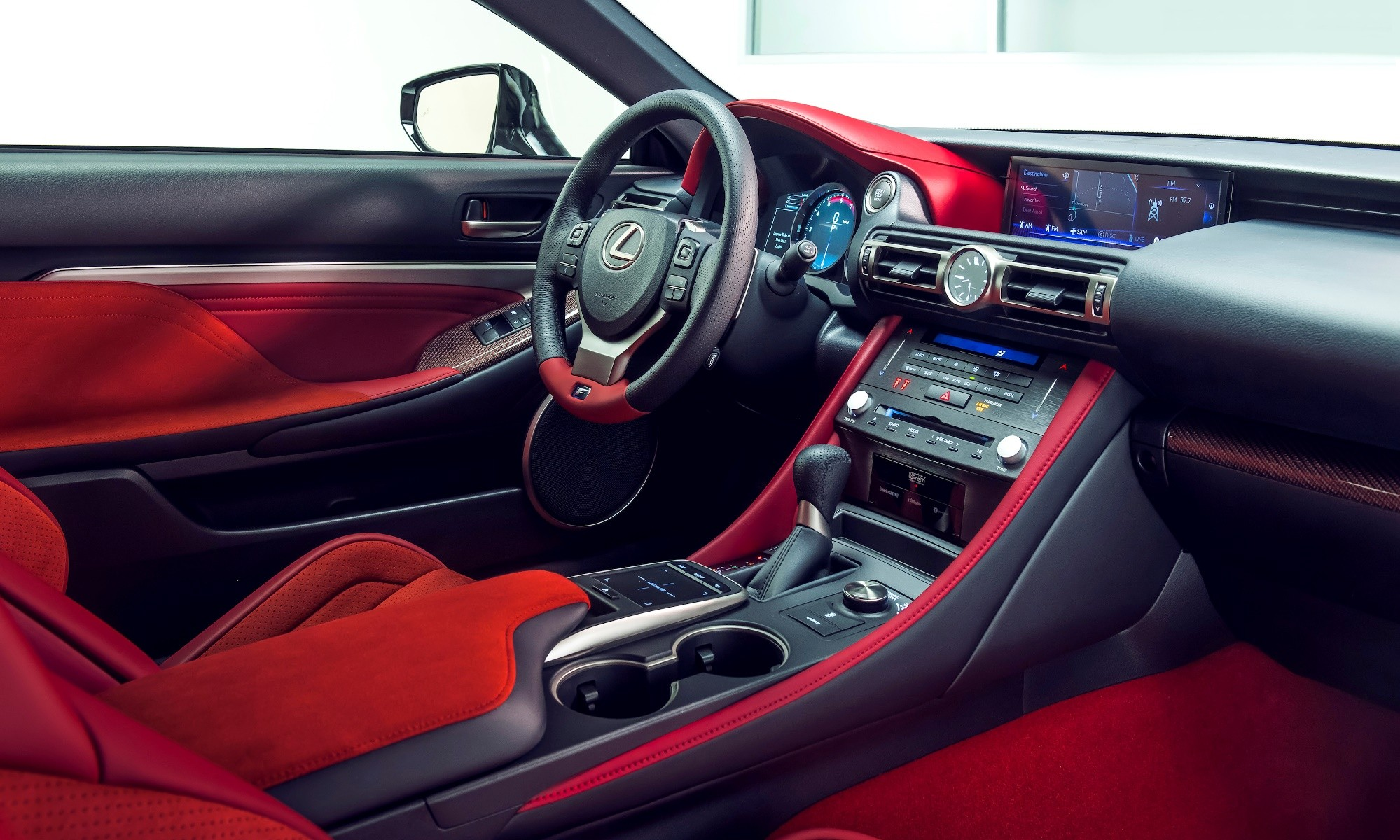 Lexus RC F Track Edition interior
