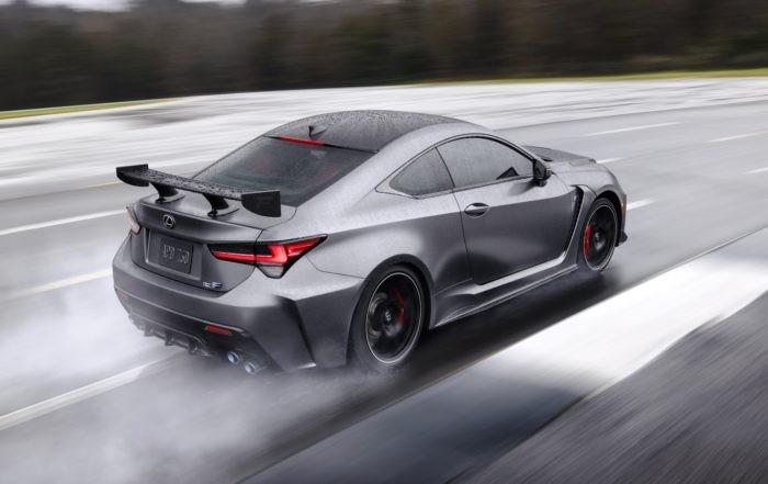 Lexus RC F Track Edition rear