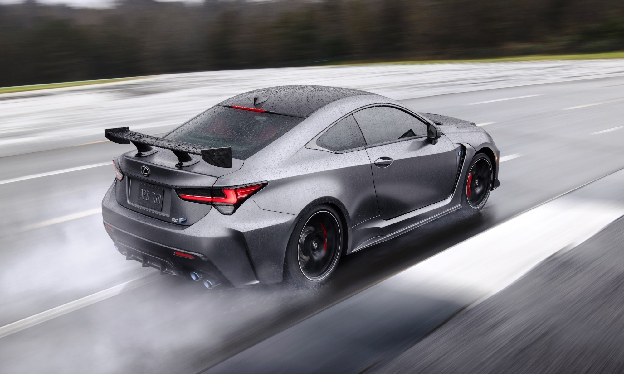 Lexus RC F Track Edition rear