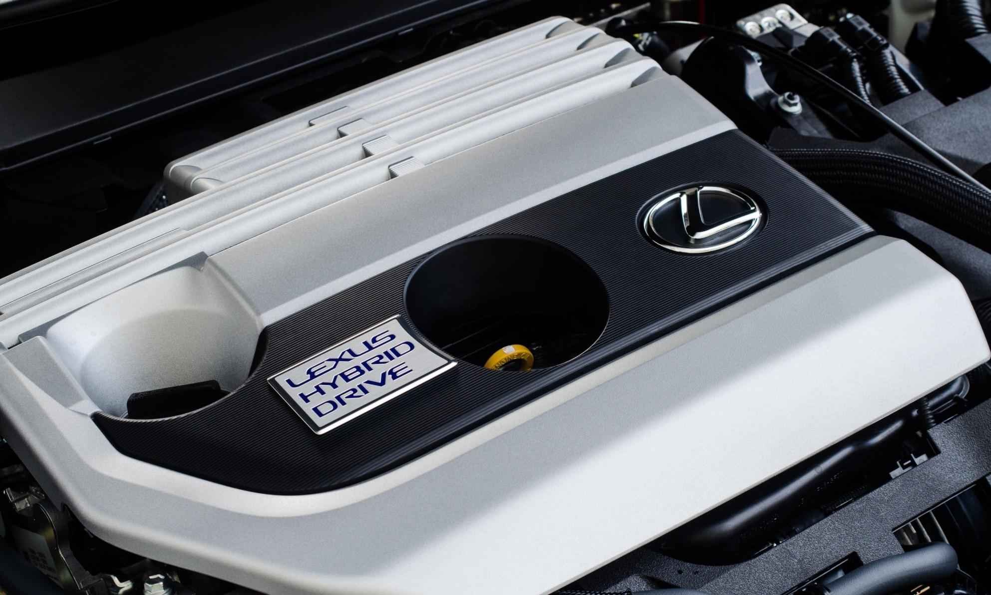 Lexus UX 250h EX engine