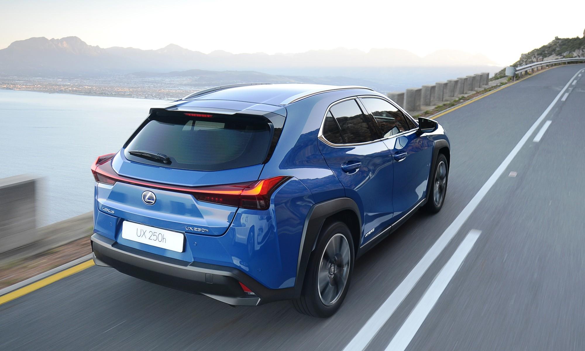 Lexus UX250h rear