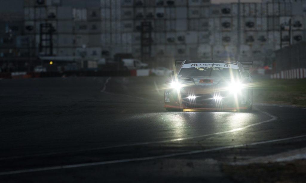 Lights ablaze, you need plenty of illumination to race into the darkness.