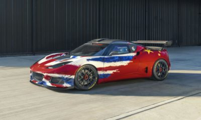 Lotus Evora GT4 Concept Racecar
