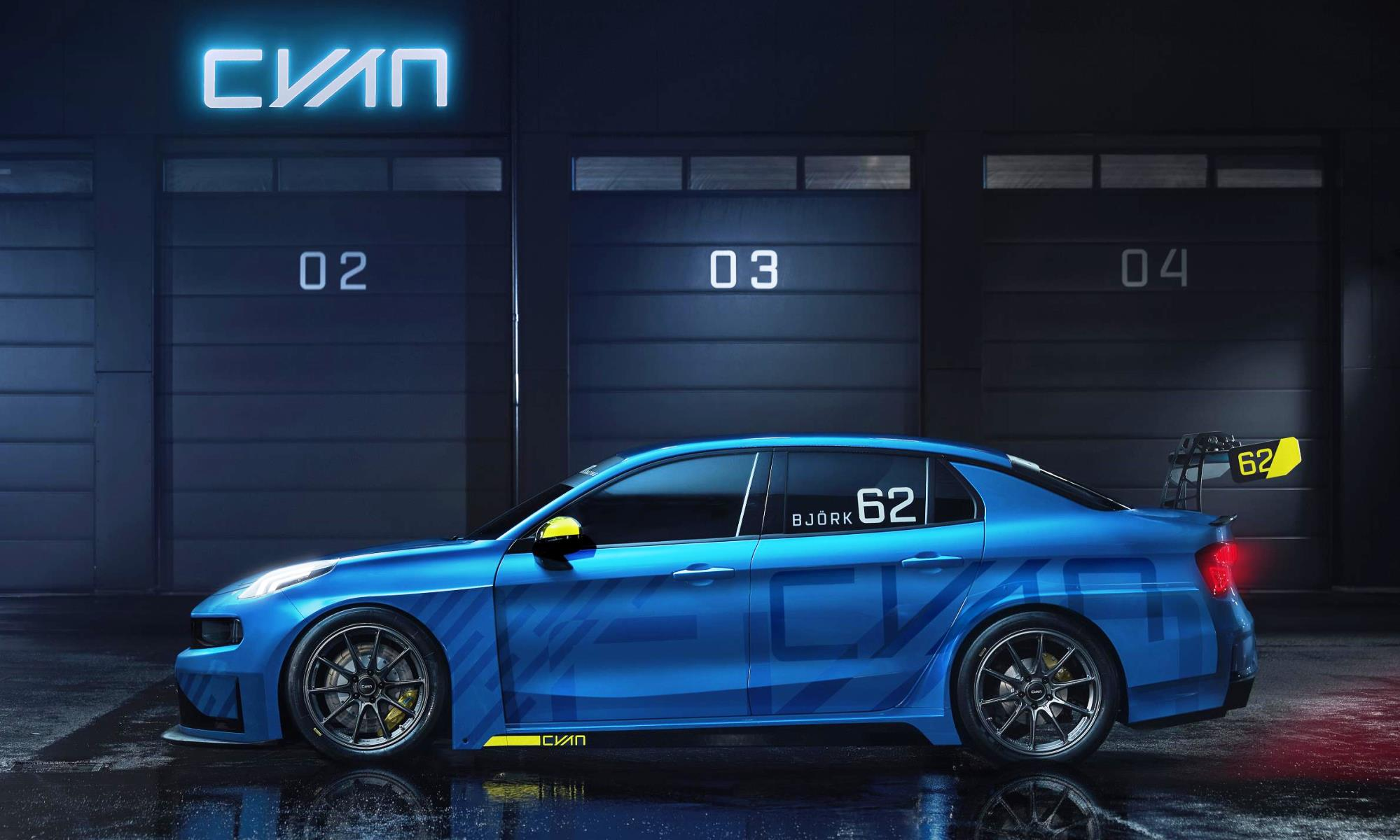 Lynk & Co 03 Cyan Concept profile