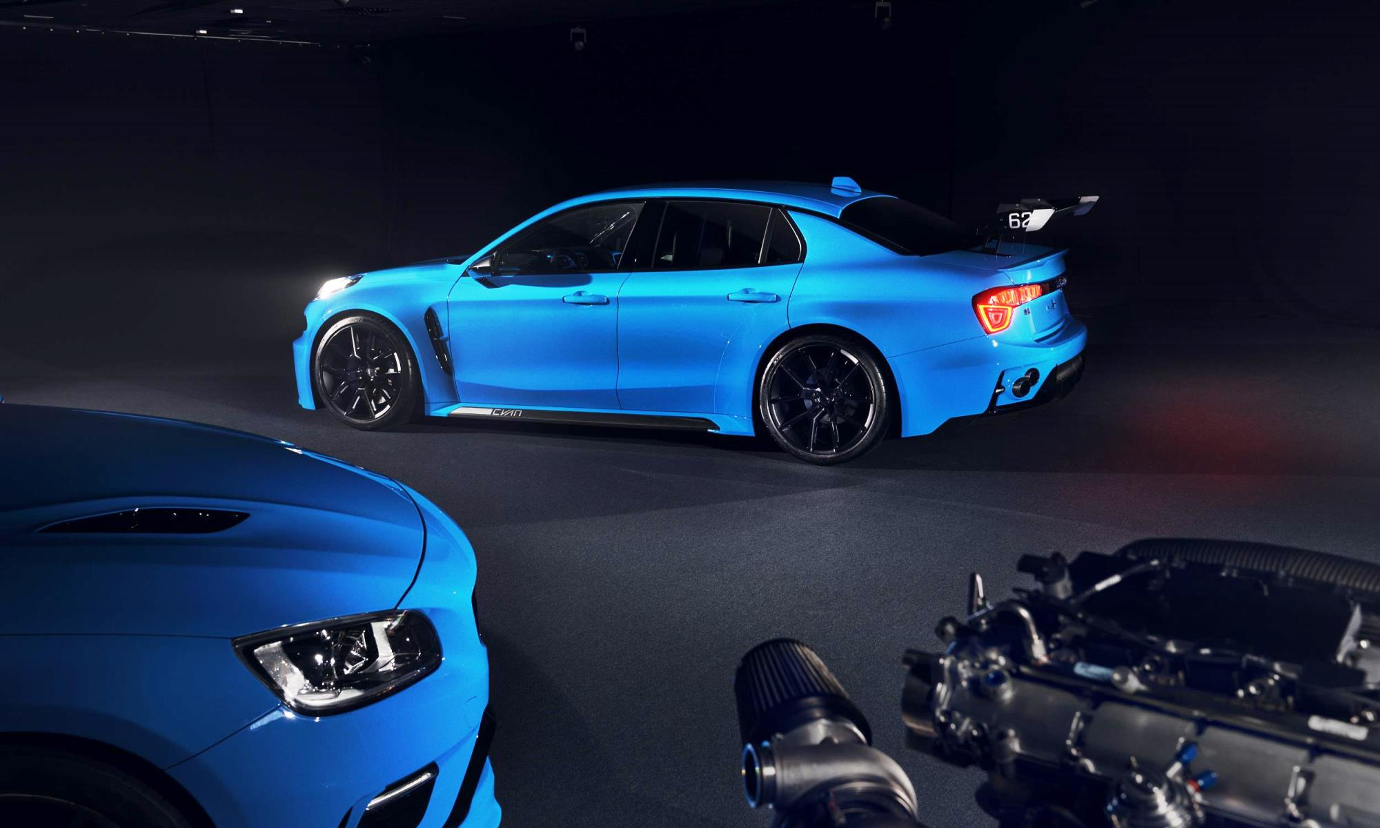 Lynk and Co 03 Cyan Concept rear