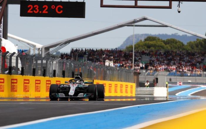 Lewis Hamilton won the 2018 French F1 GP