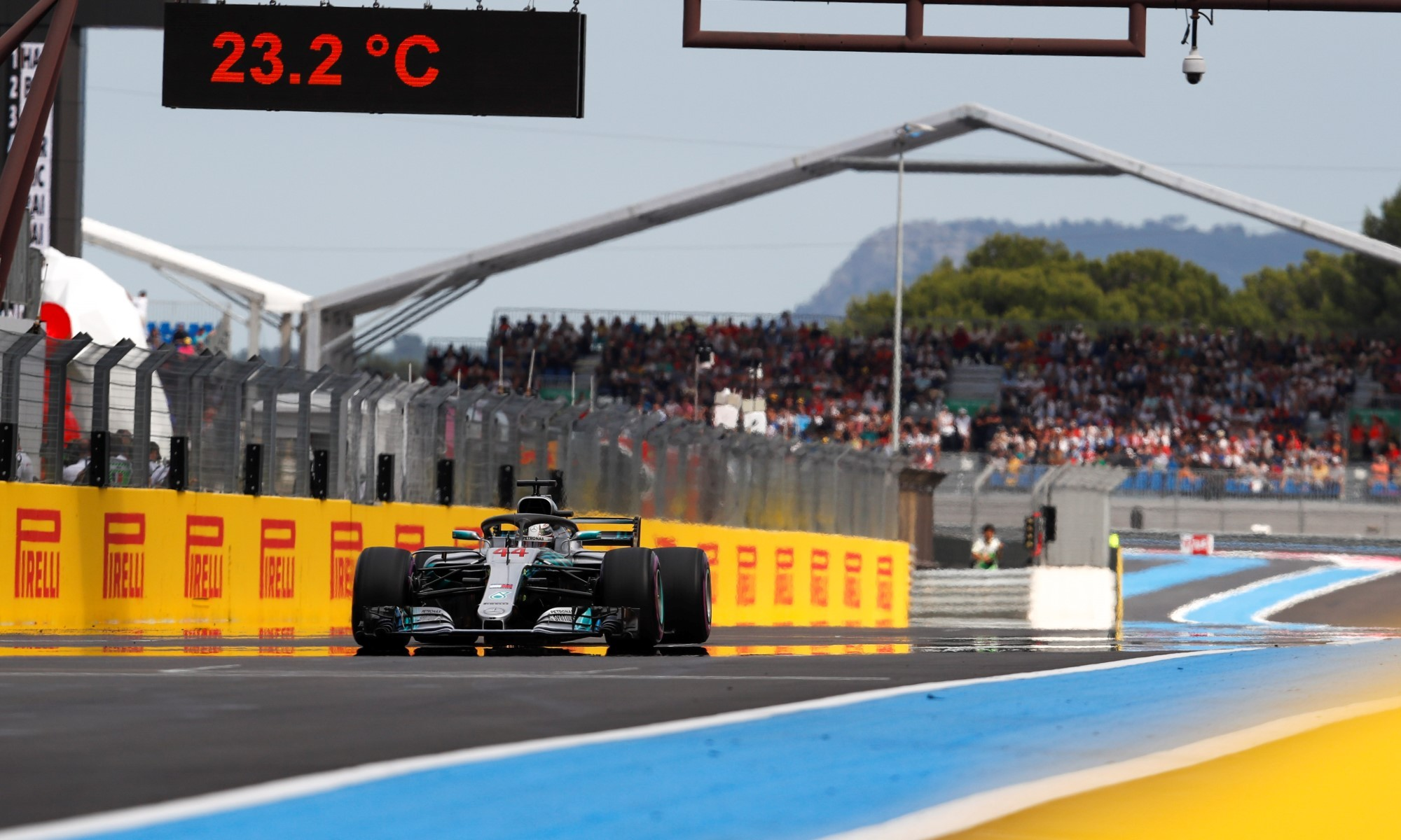 Lewis Hamilton won the 2018 French F1 GP