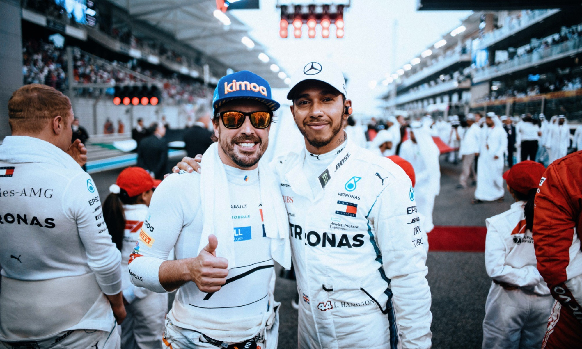 Fernando Alonso had his final F1 race in Abu Dhabi