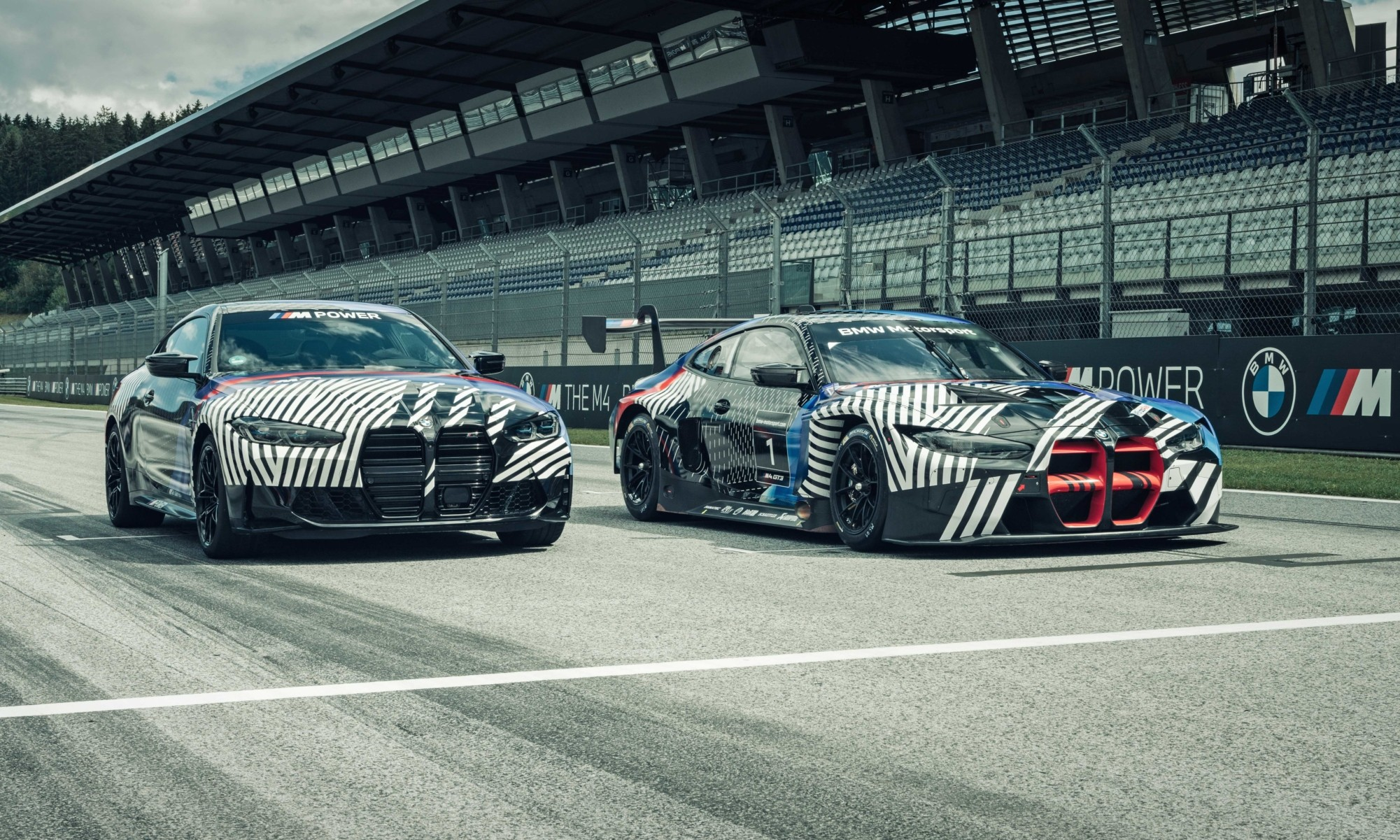 BMW M4 and M4 GT3 Debut