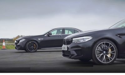 M5 Comp E63 S drag race