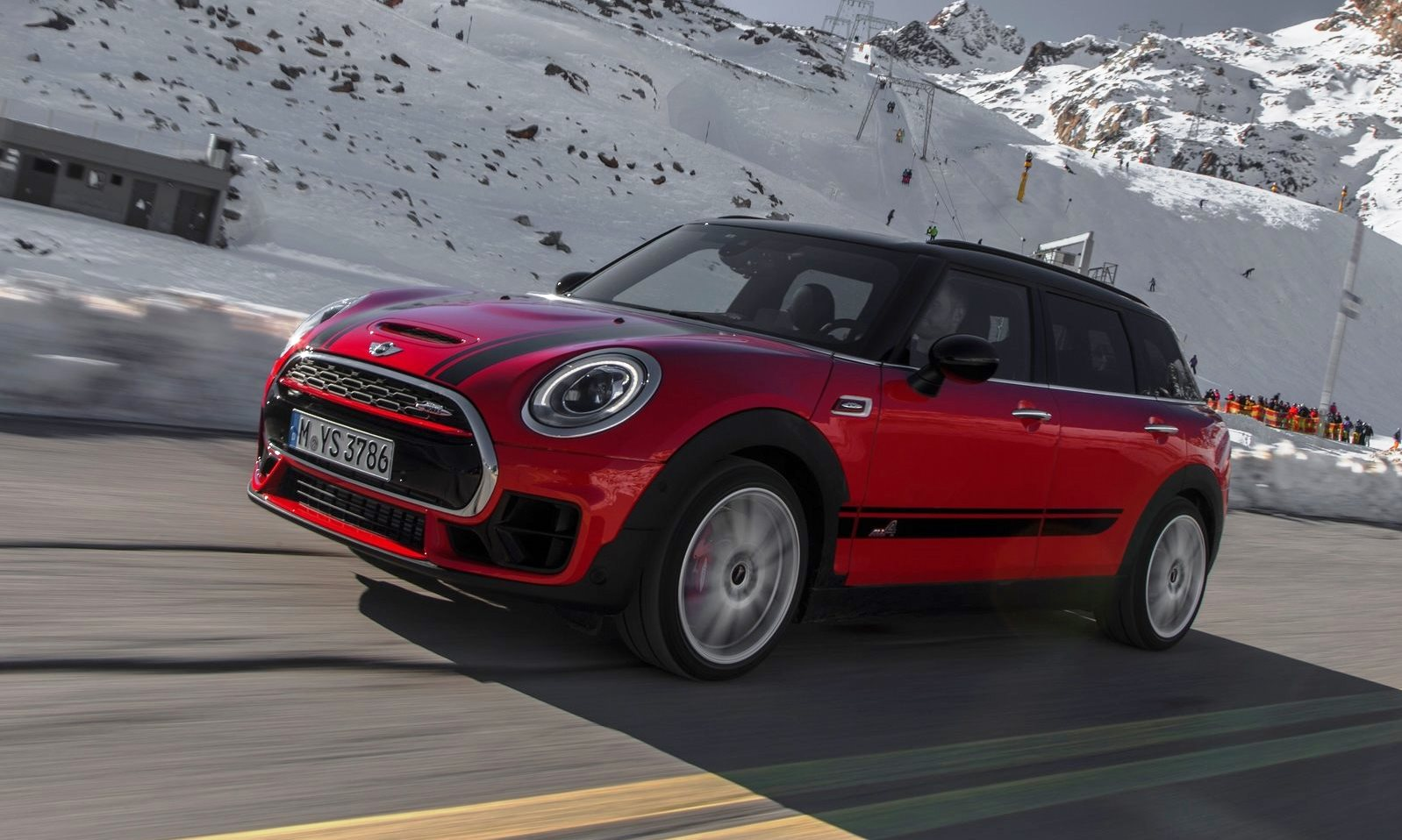 MINI Cooper Clubman All4 JCW