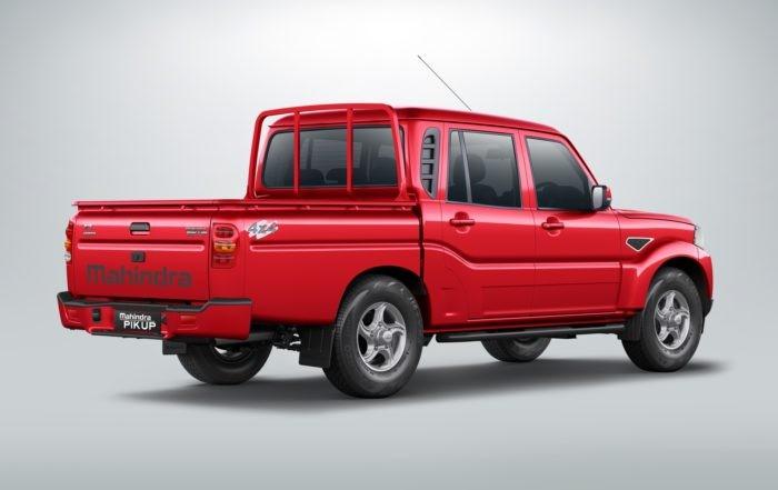 Mahindra Pik Up Auto interior