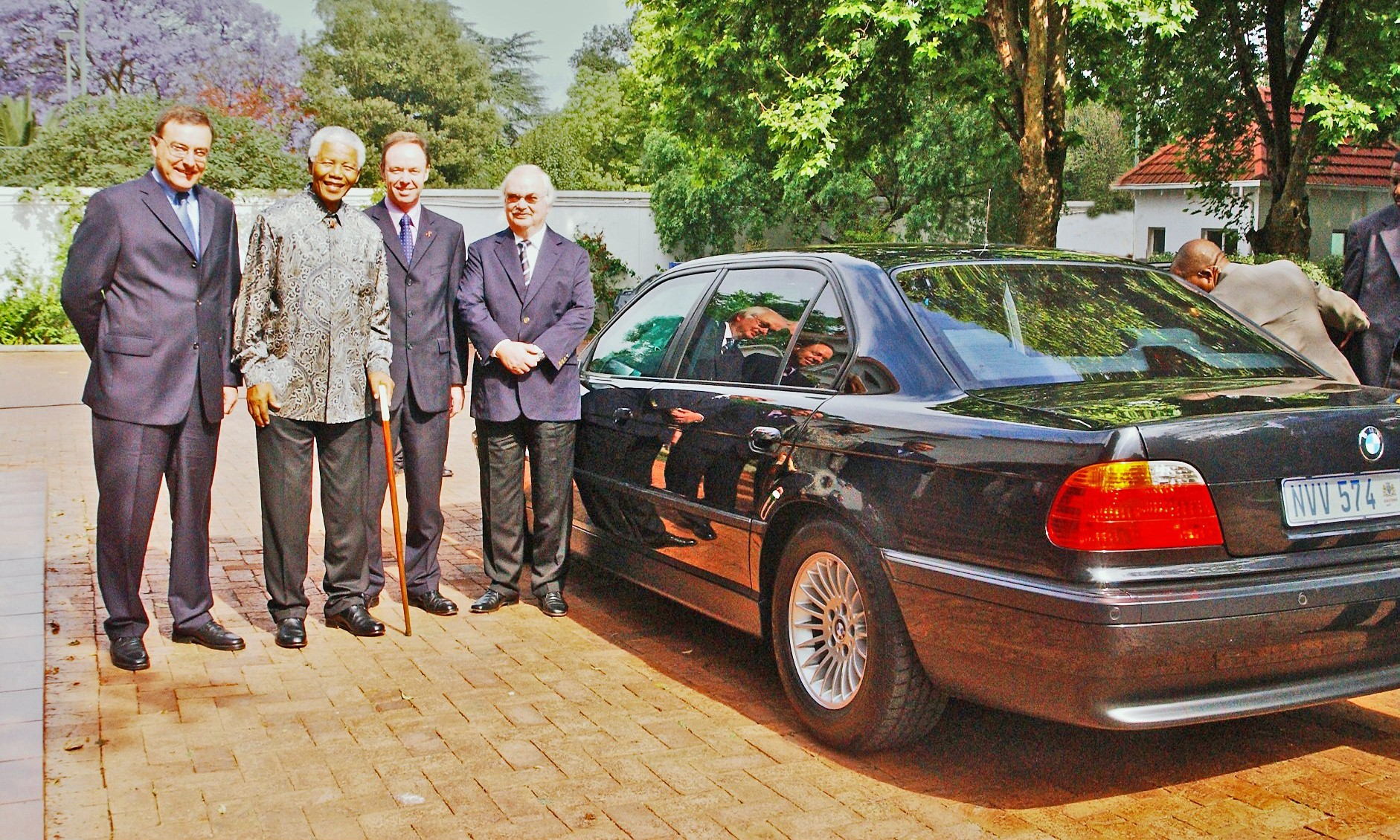 The Tricky Tale of Mandela's BMW