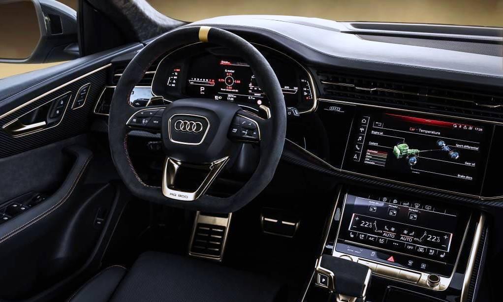 Manhart RQ900 interior gold
