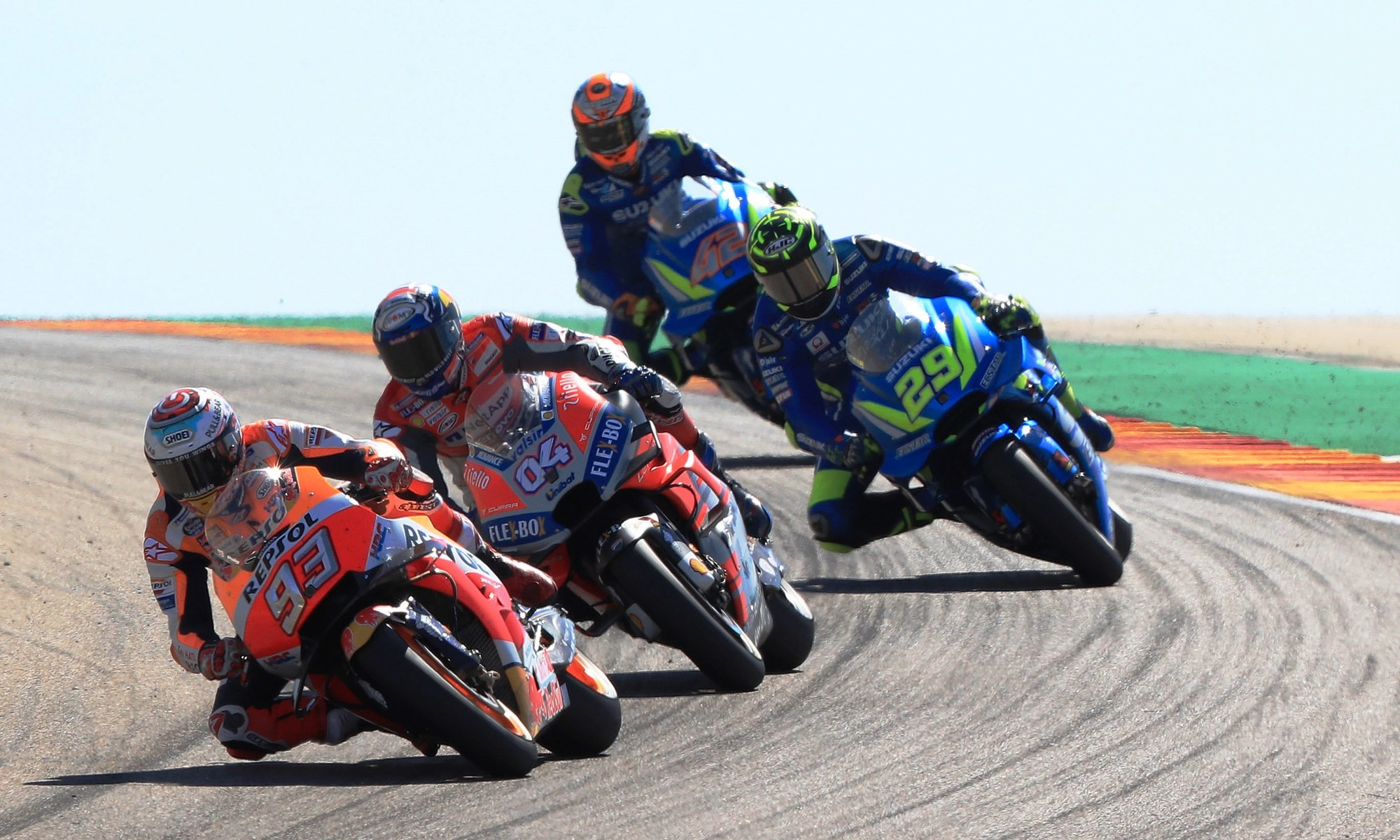 Marquez proved unbeatable at Aragon