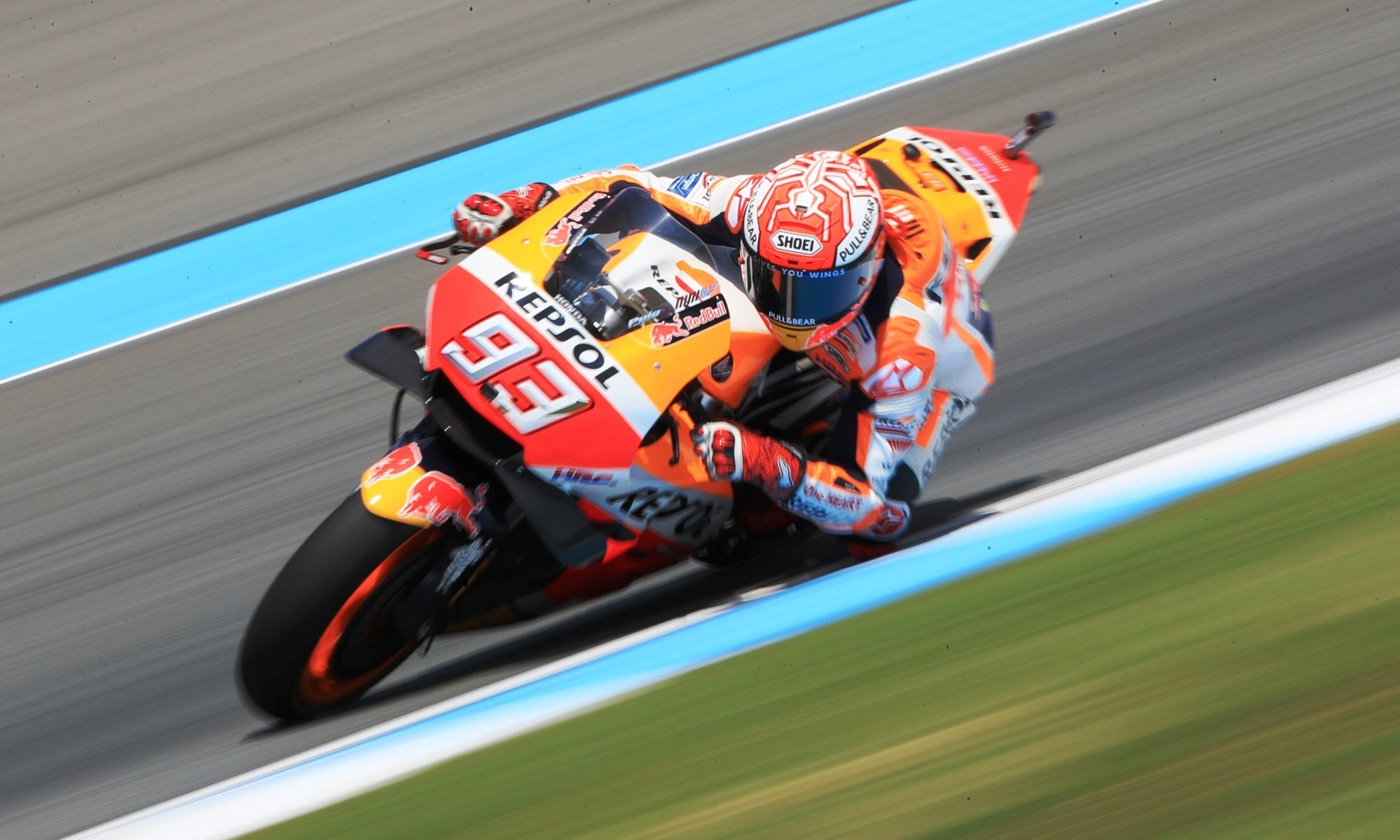 Marquez won the MotoGP race in Thailand