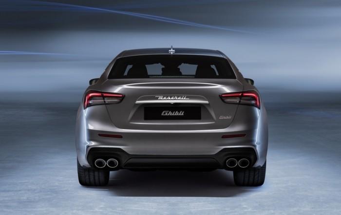 Maserati Ghibli Hybrid rear