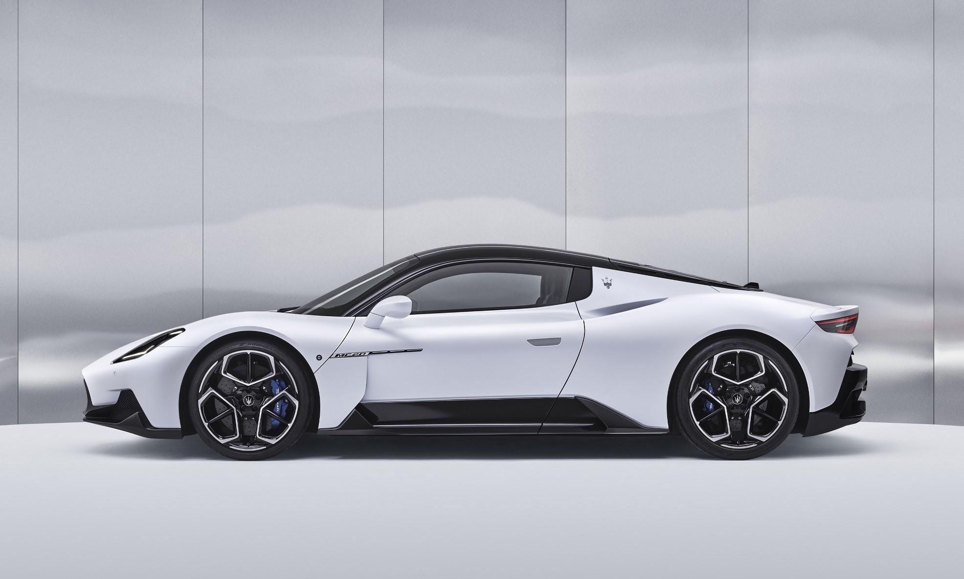 Maserati MC20 profile