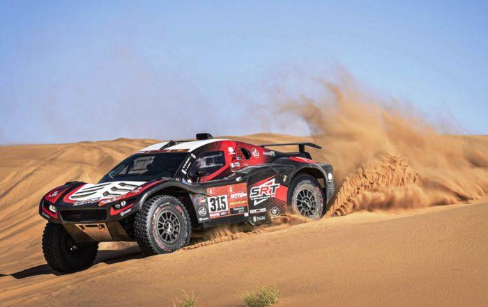 Mathieu Serradori claimed the 2020 Dakar 8 stage win.