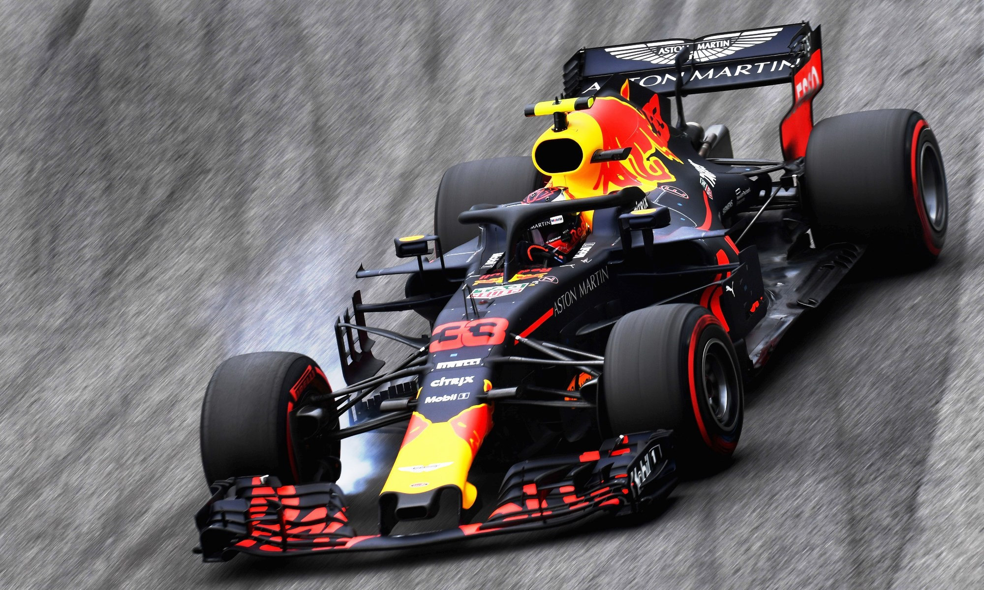 Max Verstappen finished second