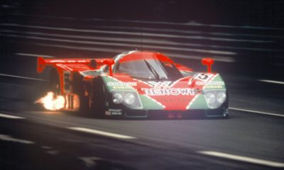 Mazda 787B at full flight