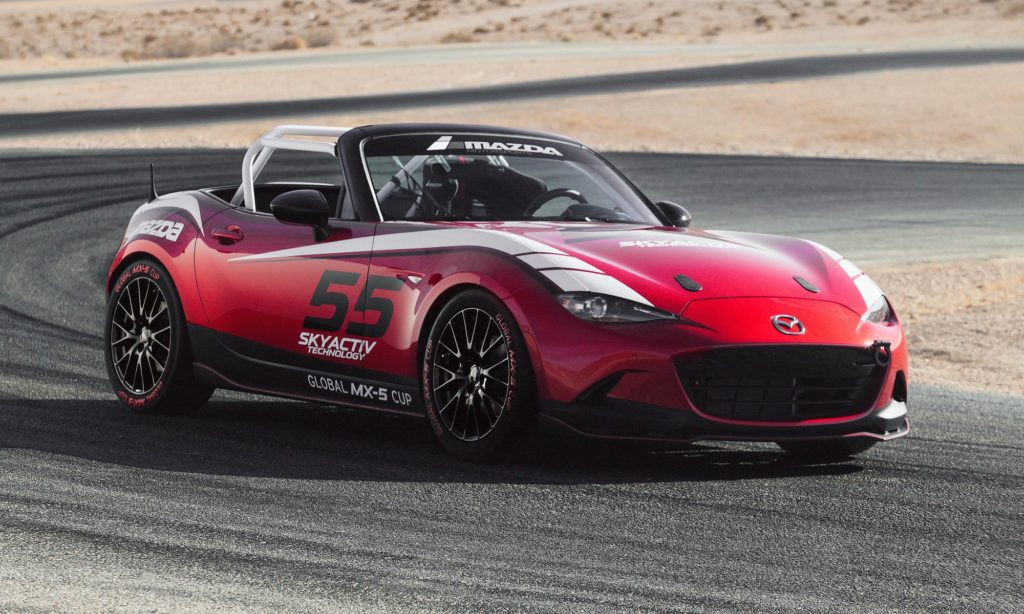 Mazda Global MX5 Cup car