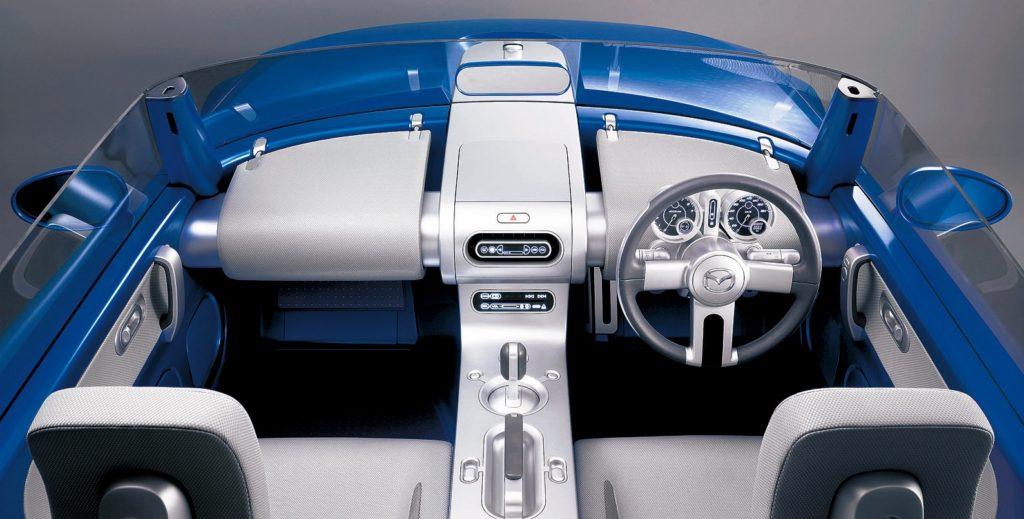 Mazda Ibuki Concept interior