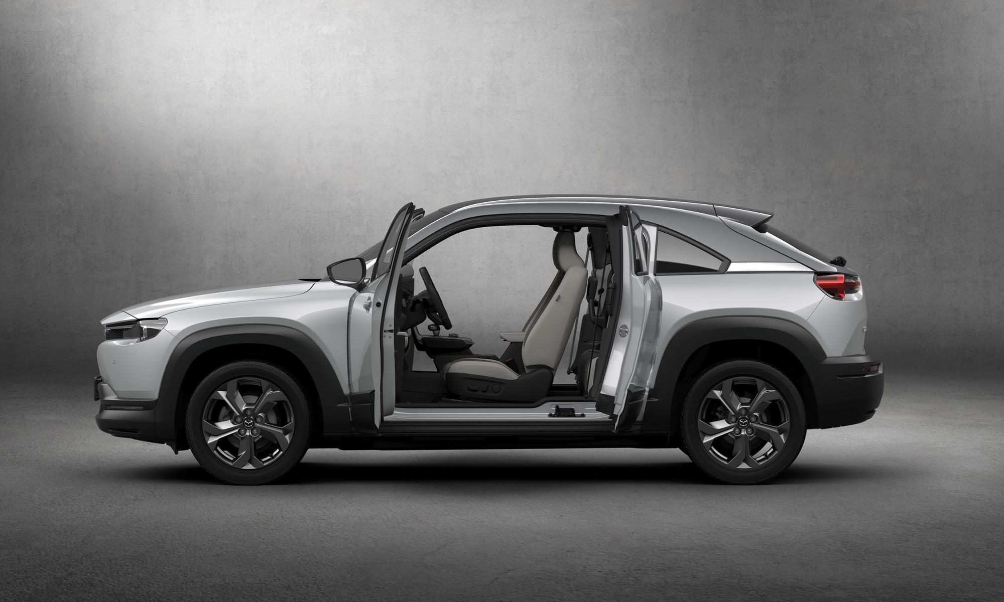 Mazda MX-30 doors
