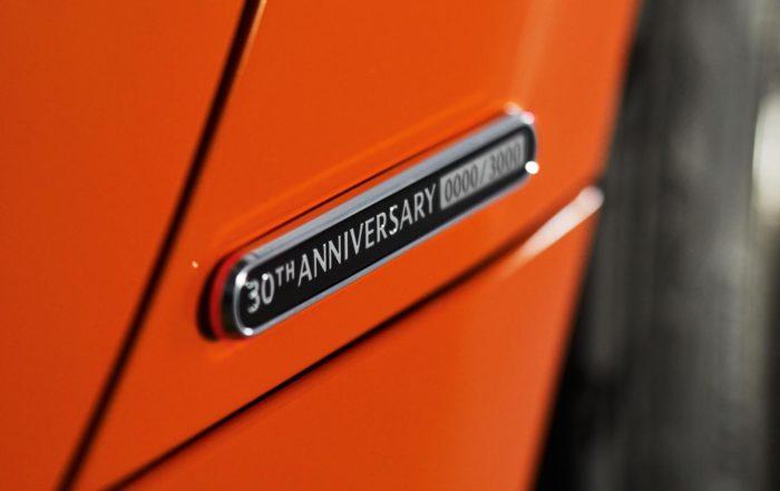 Mazda MX-5 30th Anniversary Edition badge