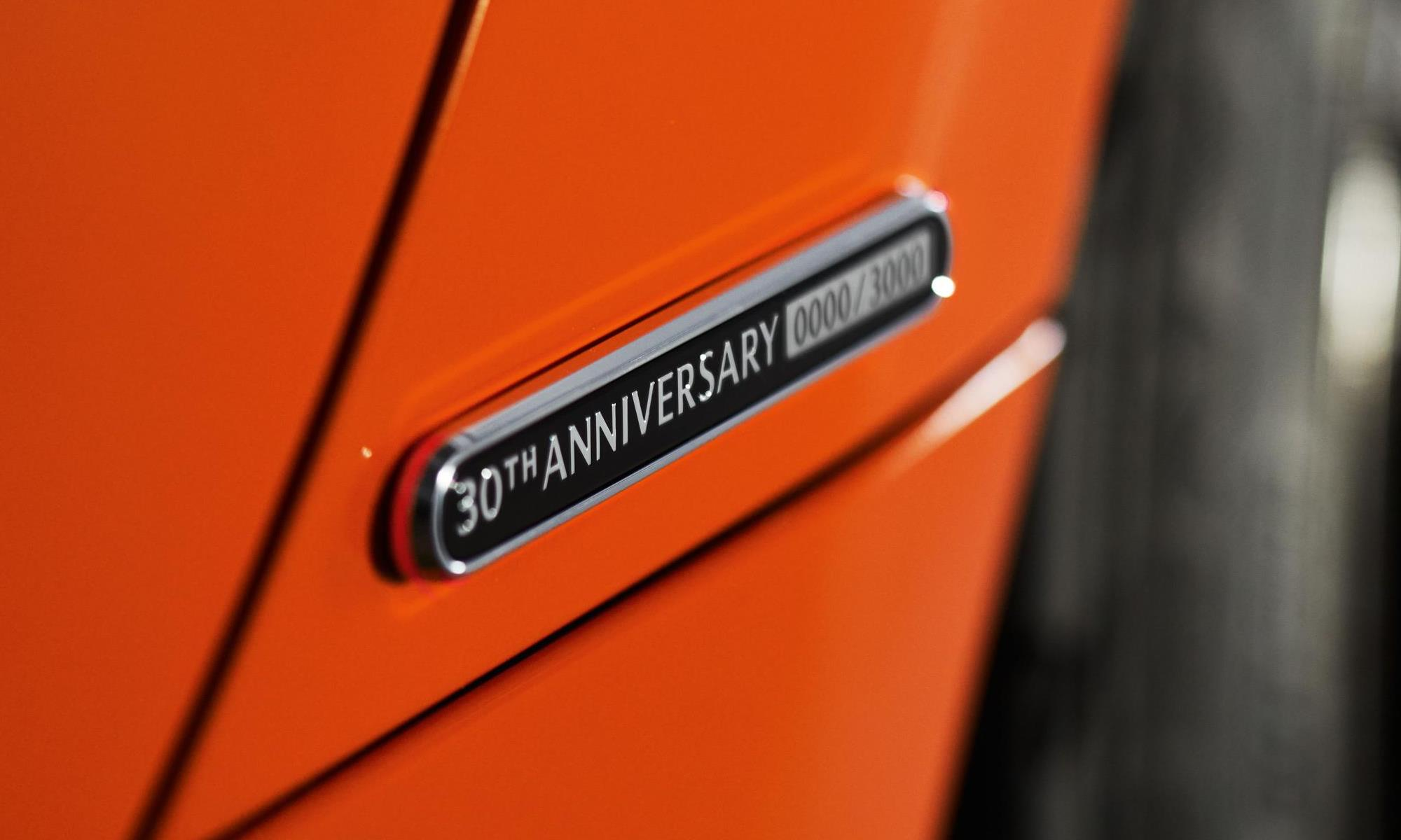 Mazda MX-5 30th Anniversary Edition badge