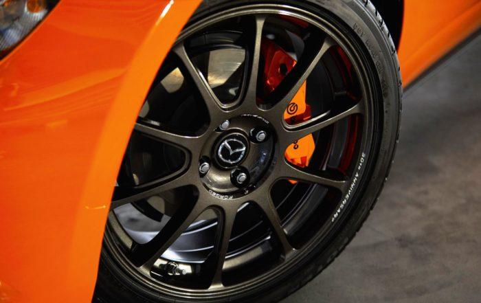 Mazda MX-5 30th Anniversary Edition wheel