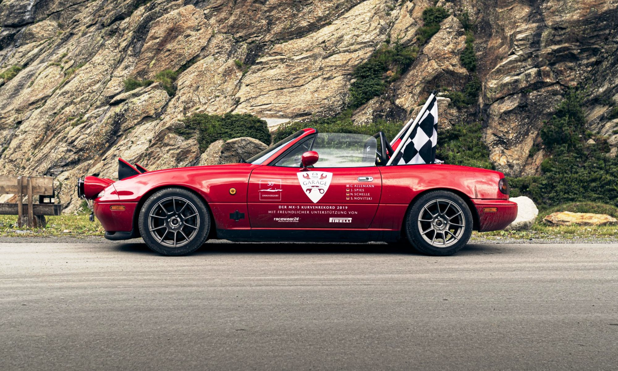 Mazda MX-5 Hairpin World Record 5