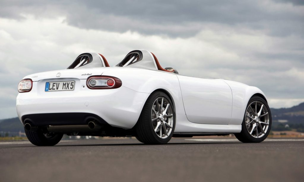 Mazda MX-5 Superlight rear