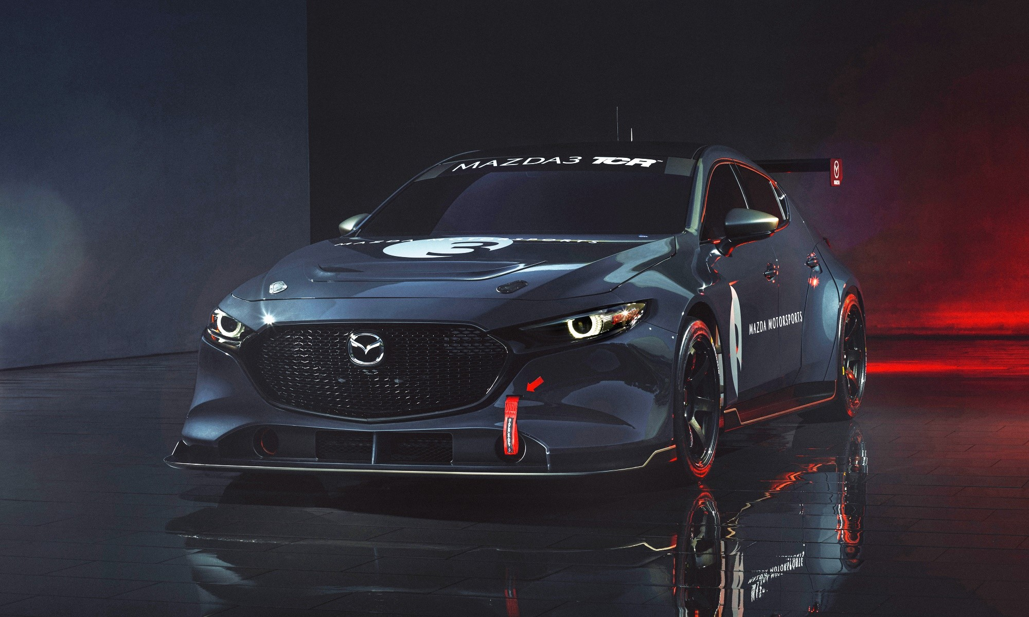 Mazda3 TCR racecar