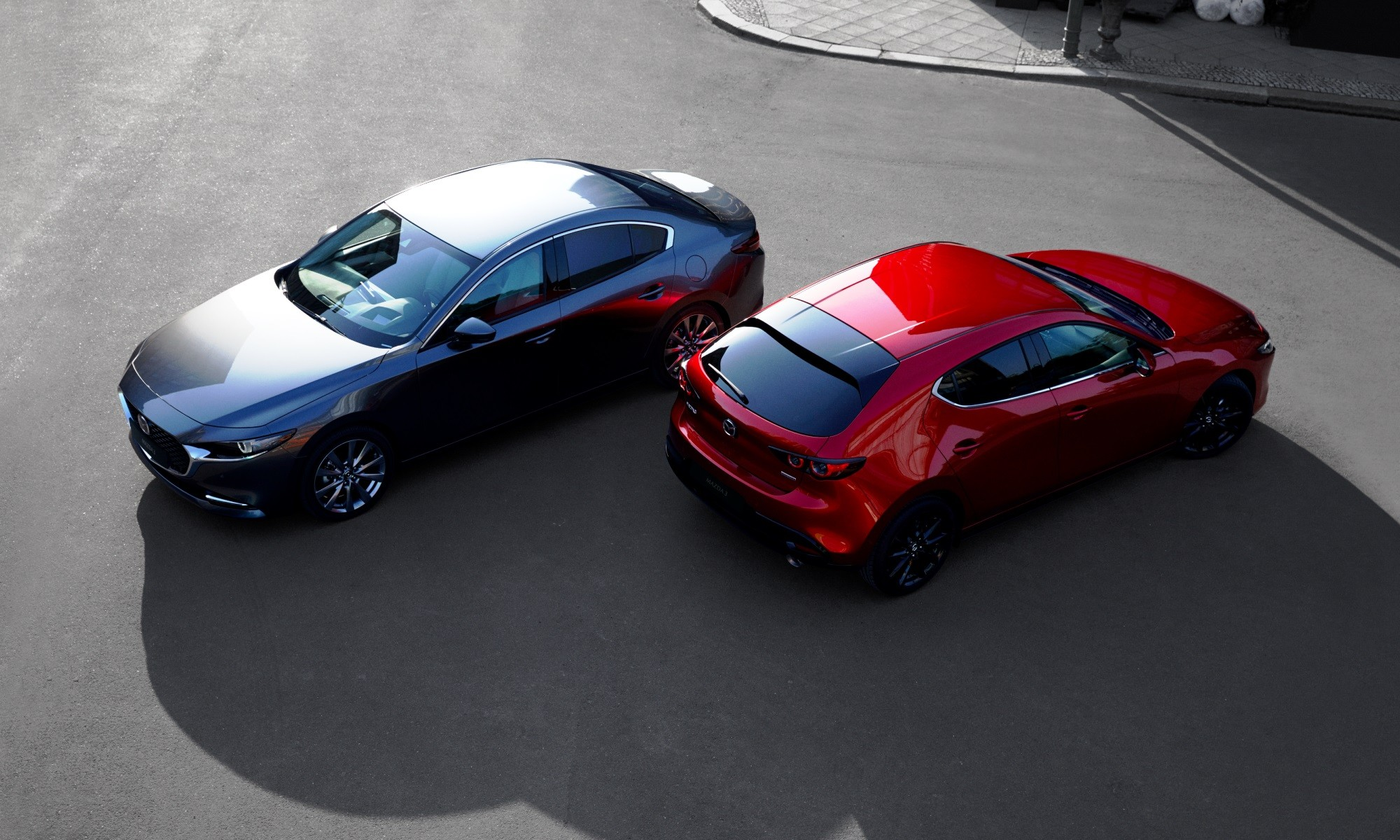 Mazda3 sedan and hatch